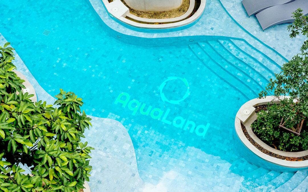 Logo Parku Wodnego Aqualand