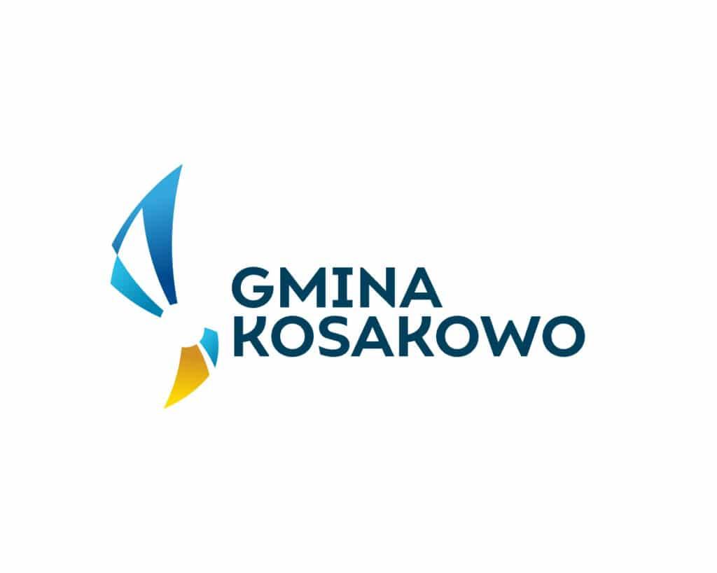 Logo Gminy Kosakowo wykonane w ramach konkursu
