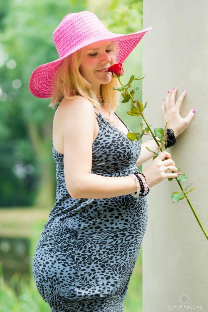 Sesja ciążowa w Parku Leśnickim