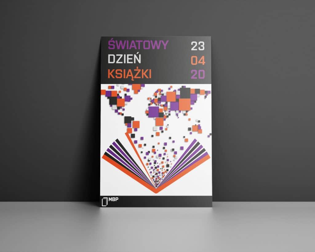 Plakat reklamujący światowy dzień książki