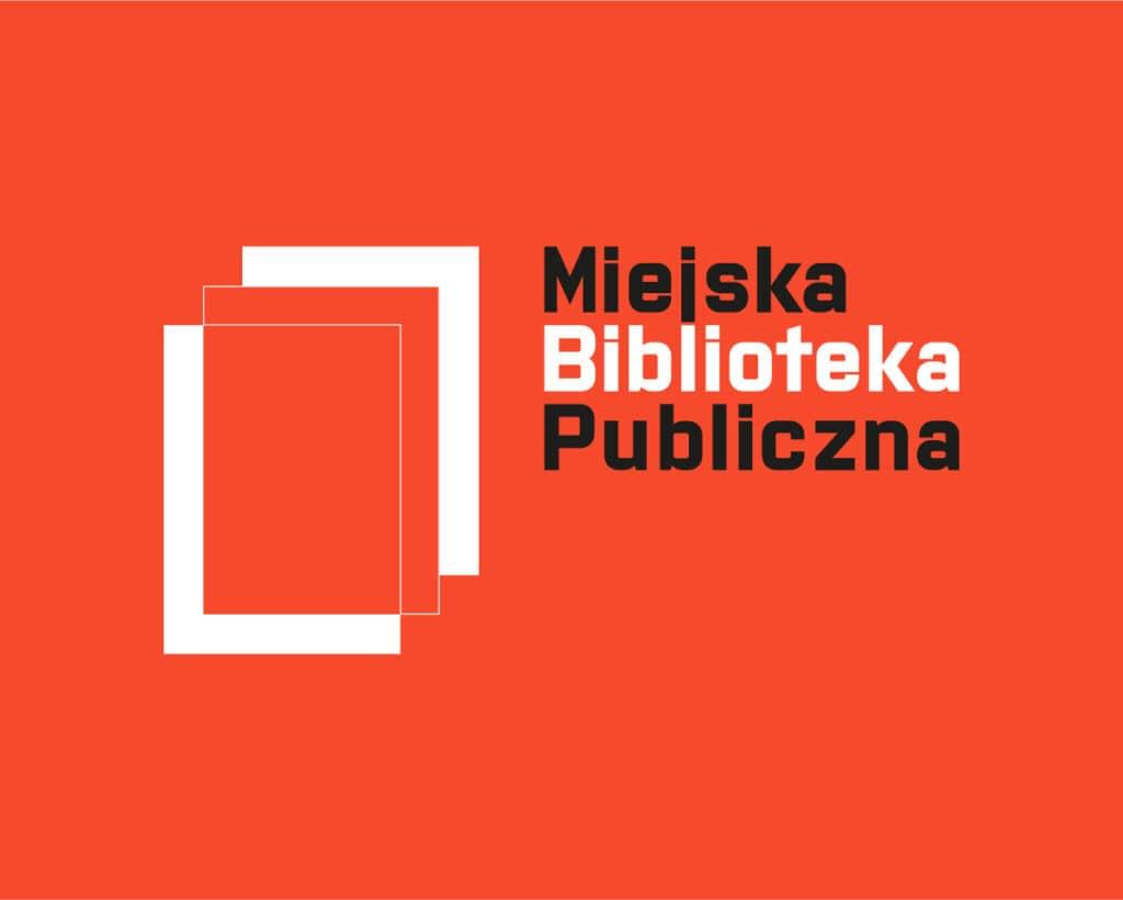 Logo Miejskiej Biblioteki Publicznej w Siemianowicach wykonane w ramach konkursu