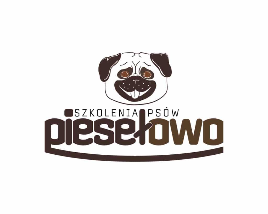 Logo szkoły dla psów