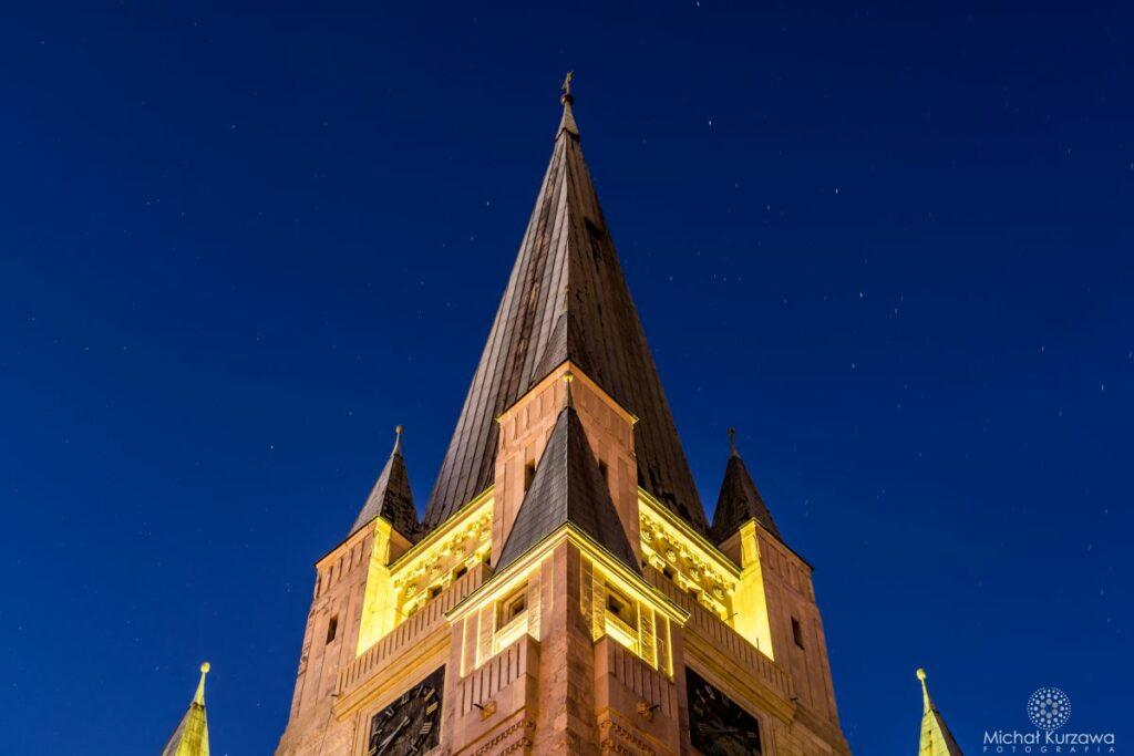 Wieża Kościoła pw. św Augustyna we Wrocławiu