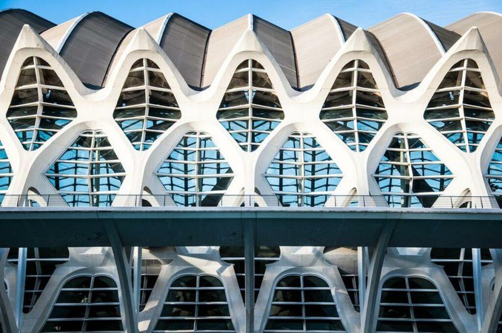Fotografia Architektury Nowoczesna Elewacja Budynku