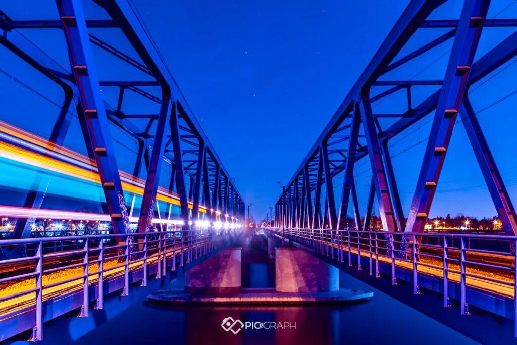 Fotografia Architektury Wrocław Most Kolejowy
