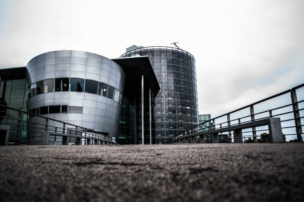Fotografia Architektury Wrocław Nowoczesny Budynek Drezno