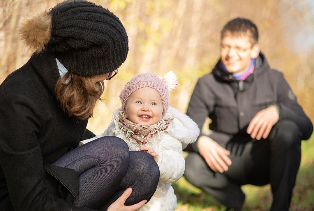 Rodzinna sesja fotograficzna z dzieckiem Wrocław