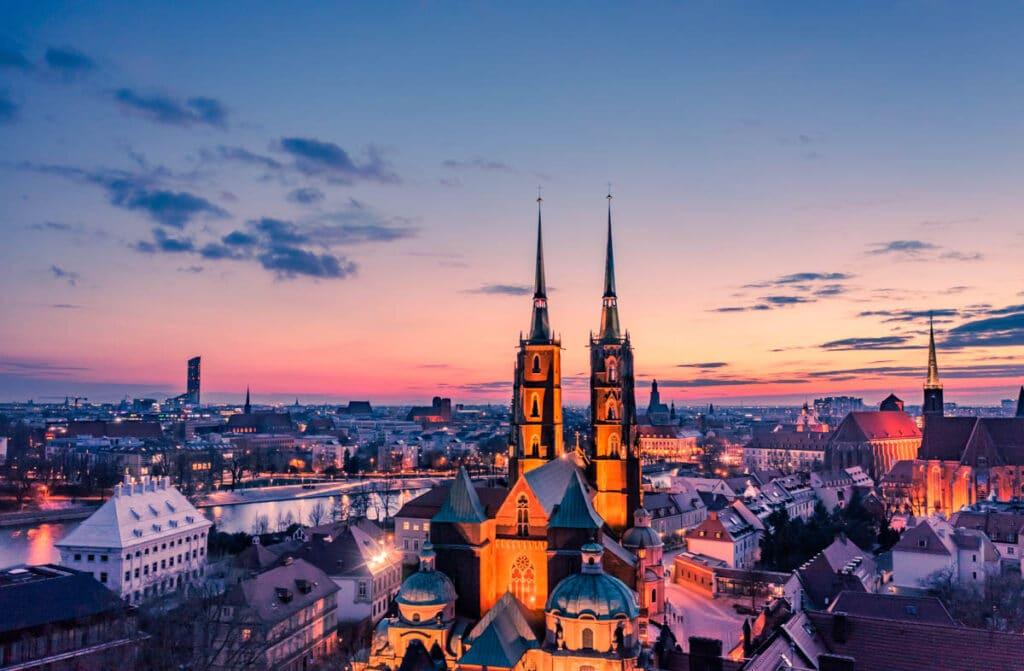 Fotografia Z Drona Wroclaw Katedra